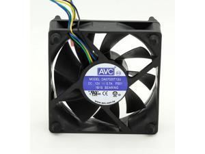 AVC DA07015T12U 7015 70mm x 15mm Cooler Cooling Fan PWM DC 12V 0.7A 4Pin B50