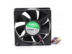Original Nidec TA450DC B35502-35 12038 12cm 12V 1.4A 120*38mm For D8794 PWM controller fan 4wire case cooling fan