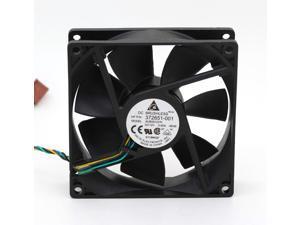 Original AUB0912VH 9cm 9025 9225 Delta DC 12V 0.60A 4-pin pwm cooling fan