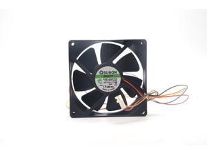 Sunon KDE1209PTV3 9cm 9.2cm 9225 9025 12V 1.3W axial cooling fan 92*92*25mm case silent cooler