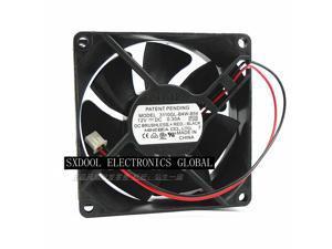 Original NMB 3110GL-B4W-B54 12V 0.30A 8cm 8025 double ball cooling fan 2 lines 2-pin