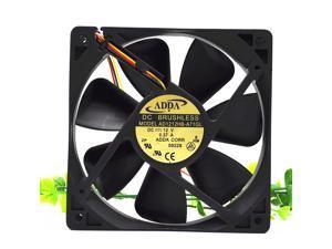 Original ADDA AD1212HB-A71GL  DC12V 0.37A 12CM 12025 case cooling fan