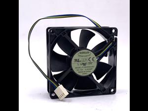 EVERFLOW 80*25mm 8CM F128025SU 12V 0.4A 4 wires 4 pins Case Fan cpu cooler