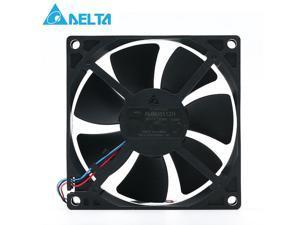 Original for delta AUB0812H-E ROO 12V 0.3A 8CM 3 wire projector axial cooling fan 3000RPM 35CFM