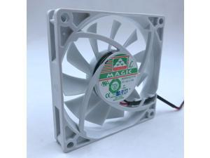 New MGA8012LF-O15 MGA8012LF-015 Refrigerator fan 80*80*15mm 80mm DC12V 0.10A for Magic silent quiet coolinf fan