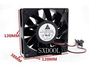 Delta PFC1212DE 12cm 12038 12V 4.8A 12CM Super High Volume Dual Ball server Fan