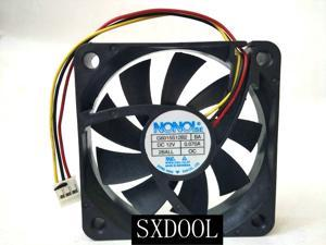New original NONOISE G6015S12B2 DC 12V 0.070A 60x60x15mm 3-Wire 3-pin Special Cooling Fan for Samsung DLP TV