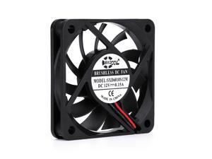 10 PCS 6cm cooling fan 60x10mm DC12V 0.15A 6010 2-wire 2-pin SXDOOL ultra-thin mute cooler