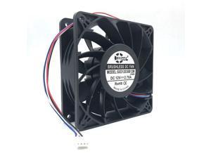 NEW 12cm cooling fan High quality  SXD12038B12M 120mm 12038 DC12V 4500RPM 200CFM 4-pin  replacement