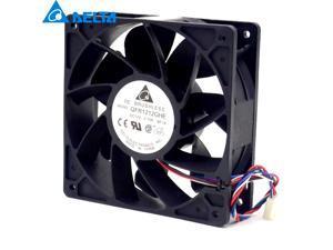 NEW original DELTA QFR1212GHE 12cm 12038 2.7A 120*120*38mm DC 12V 4-pin PWM Speed cooling fan