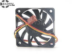 SXDOOL R126010BU 6010 6CM double ball 12V 0.35A fan CPU cooler winds of 60 * 60 * 10mm cooler