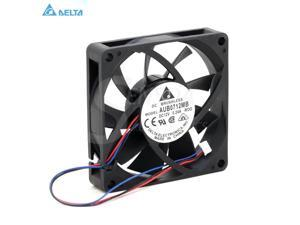10pcs 12V 8cm 80mm 80x15mm Cooling Fan DC 0.24A Brushless PC CPU Case Cooler