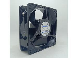 Royal AC220 230 240V12CM High Temperature Resistant Fan TMHS458CG Industrial Frequency Converter Fan