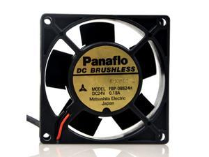 Matsushita Panaflo FBP-08B24H 24V 0.18A 8CM 8032 silent heat dissipation fan