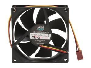 A8025-20RB-3BN-F1 Cooler Master Rifle Bearing 80mm Silent Cooling Fan for Computer Cases and CPU Coolers DF0802512RFLN 12V 3-lines