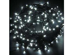 Decorative Christmas Twinkle LED Lights 80LED 35ft Color Changing Modes Fairy String Light for Outdoor, Indoor Decor, Garden, Wedding, Party + Controller[Black wire][White]