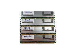 CMS 32GB (4X8GB) Memory Ram Compatible with Dell Poweredge T310 Quad Rank Ecc Reg For Server Only - B26