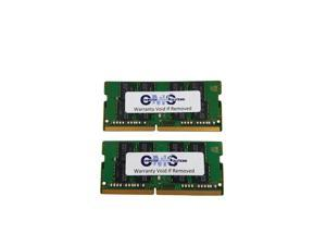16GB (2X8GB) Memory Ram Compatible with Gigabyte Notebook AERO 14 (GTX 1060), AERO Laptop 15/15X (i7-7700HQ), AORUS 15/15X (i7-7700HQ) Notebook by CMS c109