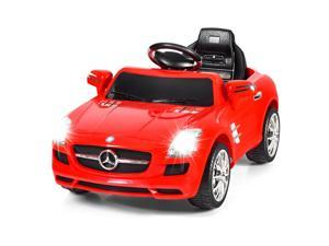 MERCEDES BENZ SLS Kids Ride On Car R/C MP3 Electric Battery Toy Christmas Gift