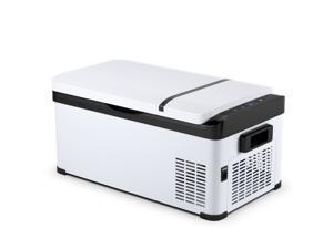 Costway 21-Quart Portable Car Refrigerator Mini Cooler/ Freezer Compressor Camping