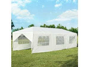 10'x30' Outdoor Party Wedding Tent Canopy Heavy duty Gazebo Pavilion 8 Sidewall