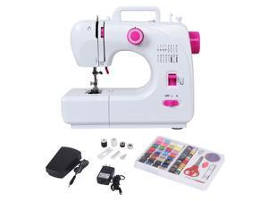 2-Speed Multi-function Fashion Portable Sewing Machine Serger w/16 Stitch Light