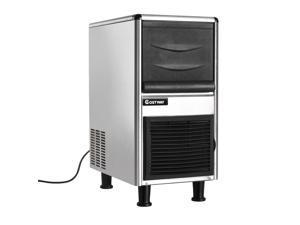 Freestanding Restaurant Bar Stainless Steel Commercial Ice Maker 110lbs/24h