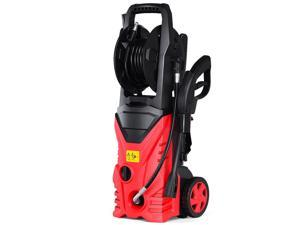 2030PSI Electric Pressure Washer Cleaner 1.7 GPM 1800W with Hose Reel Red