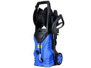 2030PSI Electric Pressure Washer Cleaner 1.7 GPM 1800W with Hose Reel Blue