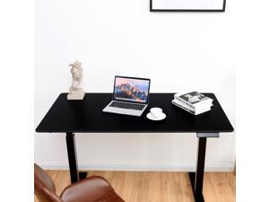 Electric Single Motor Sit To Stand Desk Table Top Laminate Top Office Tabletop