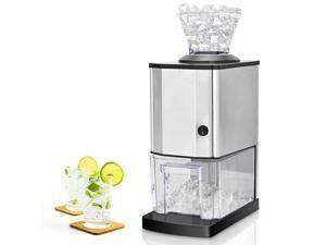 Electric Stainless Steel Ice Crusher Shaver Machine Professional Tabletop