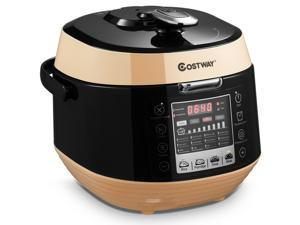 5.3 Qt 12-in-1 Multi-use Programmable Electric Pressure Cooker Non-stick Pot