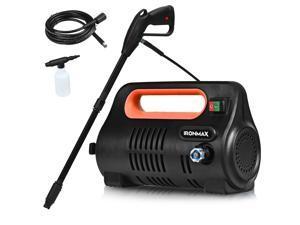 1800PSI Portable Electric High Pressure Washer 1.96GPM 1800W W/ Hose Reel Orange