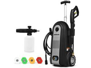 2800PSI Electric High Pressure Washer Cleaner 1.96GPM 2500W w/ 4 Nozzles