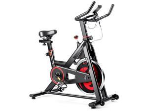 Stationary Exercise Magnetic Cycling Bike 30Lbs Flywheel Home Gym Cardio Workout