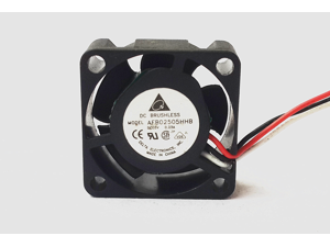 Electronics AFB02505HHB 2510 25mm 2.5cm Delta DC 5V 0.23A 3 line small mini server inverter axial cooling fans