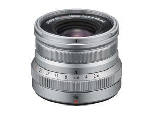 Fujifilm 16mm f/2.8 XF R WR Lens - Silver