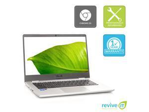 """Asus Chromebook C423NA 14"""" Nano-Edge Display Intel N3350 1.1GHz 4GB RAM 64GB eMMC Flash C423NA-WB04 - Grade A"""