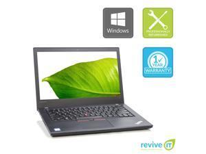 Lenovo ThinkPad T470 Laptop i5-7300u Dual-Core Min 2.60GHz 8GB 256GB SSD Win 10 Pro 1Yr Wty B v.WCA