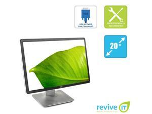"Dell Professional P2016 20"" Widescreen 1440x900 16:10 LED Backlit IPS LCD Monitor VGA DP - Grade B"