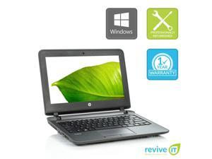 """HP ProBook 11 G1 11.6"""" Laptop Core i3 8GB 256GB SSD M.2 Integrated Graphics Win 10 Home 1 Yr Wty A v.WAA"""