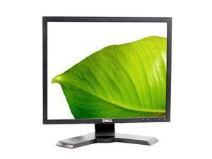 """Black Dell 19"""" P190S LCD Screen Monitor 5:4 1280x1024 DVI VGA USB Grade A"""