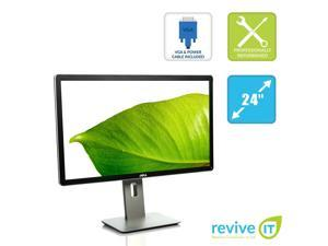 "Dell P2414H 24"" Widescreen 1920x1080 Full HD IPS LED LCD Monitor Grade B"