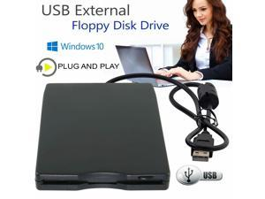 3.5 Portable Usb 2.0 External Floppy Disk Drive 1.44mb For Laptop Pc Win 7/8/10
