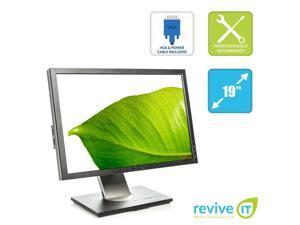 """Dell Ultrsharp 1909W 19"""" Widescreen 1440x900 LCD Monitor DVI VGA Grade B"""