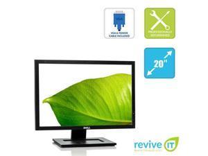 """Dell E2009W 20"""" 1680x1050 16:10 Widescreen LCD Monitor VGA DVI Grade B"""