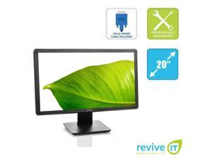 "Dell E2014H 20"" LED Backlight LCD 1600x900 16:9 DVI VGA Monitor - Grade B"
