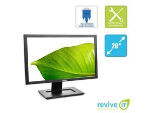 "Dell E2011H 20"" 1600x900 LED LCD Widescreen Flat Panel VGA DVI Monitor - Grade B"