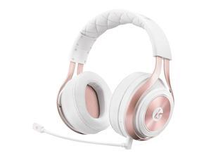 LucidSound LS35X Wireless Surround Sound Stereo Gaming Headset with Mic - Rose Gold