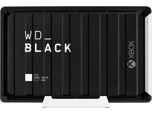 WD_Black 12TB D10 Game Drive for Xbox, Desktop External Hard Drive (7200 RPM) with 1-Month Xbox Game Pass - WDBA5E0120HBK-NESN